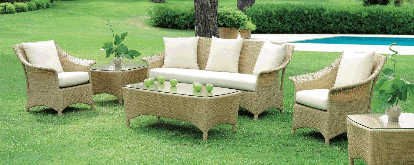 mobilier jardin extérieur Caspar